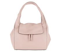 Adria Leather Hobo Flap Bag SM  Hobo Bag