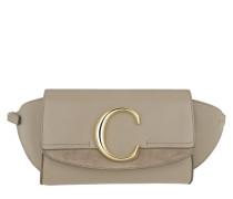 Gürteltasche Chloé C Belt Bag Motty Grey beige