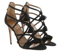 Sandalen Alegria Sandals Suede Black schwarz