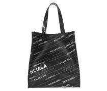 Tote Small Market Shopper Black/White schwarz
