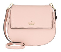 Small Byrdie Round Crossbody Bag Warmvellum Tasche