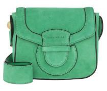 Umhängetasche Vega Suede Crossbody Bag Small Alien Green grün