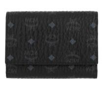 Visetos Original Flap Wallet Tri-Fold Small Black