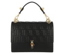 Kan I Crossbody Bag Leather Black/Gold Satchel Bag