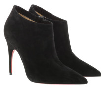 Pumps Gorgona 100 Ankle Boots Suede Black