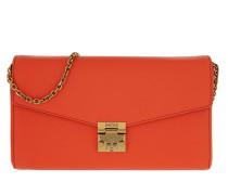 Umhängetasche Medium Flap Crossbody Bag Orange Dust