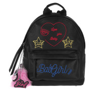 Backpack Eco Girl Nero/Black Rucksack