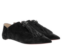 Medinana Flat Slipper Black Schuhe