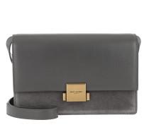 YSL Bellechasse Shoulder Bag Storm Tasche