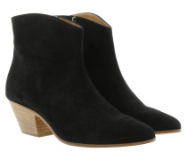 Boots BO0166 012S01BK Ankle Boots Leather Black schwarz