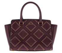 Selma MD TZ Satchel Bag Plum