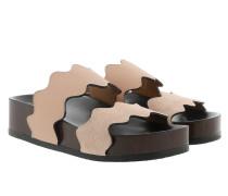Chunky Sole Slides Maple Pink Sandalen