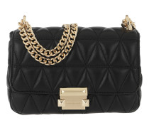 Umhängetasche Sloan Small Chain Shoulder Bag Black schwarz