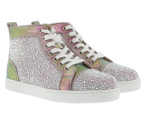 Louis Woman Strass Sneakers Rose/Gold Sneakers