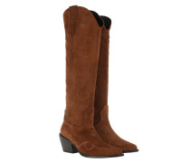 Boots Alex Gilly Boot Cognac Suede