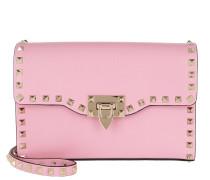 Rockstud Medium Shoulder Bag Leather Absolute Rose Tasche