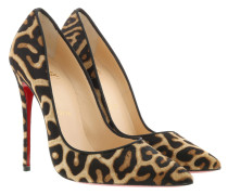 Pumps Louboutin Leopard Pumps So Kate Brown braun