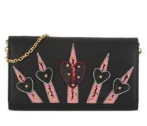 Dagger Chain Wallet Nero Portemonnaie