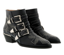 Susanna Leather Studs Boots Abyss Blue Schuhe