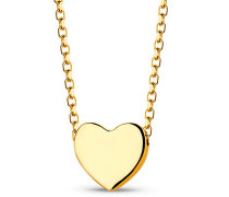 Halskette Heart Necklace 18KT Yellow Gold