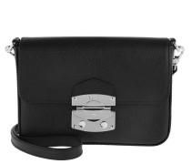 Umhängetasche Pamellato Crossbody Bag Black/Nickel schwarz