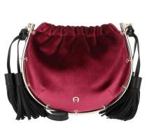 Lola Crossbody Bag Burgundy Tasche