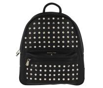 Studded Backpack Rock Black/Pearl Rucksack