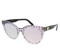 Sonnenbrille MCM657S Purple/Sand Iridescent Visetos schwarz