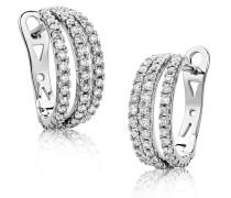 Ohrringe 0.6ct Diamond Earring 18KT White Gold