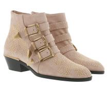 Susanna Boots Suede Maple Pink Schuhe