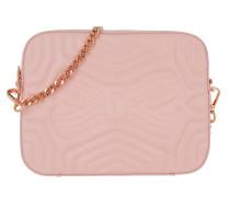 Sunshine Quilted Camera Bag Light Pink