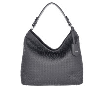Hobo Bag Piuma Woven Grey