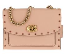 Umhängetasche Crystal Border Rivets Parker 18 Shoulder Bag Nude Pink rosa
