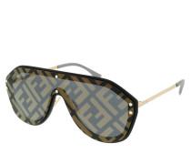Sonnenbrille FF M0039/G/S Black Gold gold