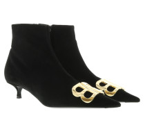 BB Booties Velvet Noir Schuhe