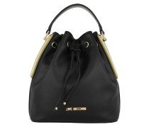 Calf Bucket Bag Oro Beuteltasche
