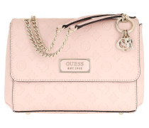Umhängetasche Logo Love Crossbody Flap Bag Blush