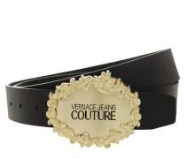 Gürtel Golden Logo Belt Black