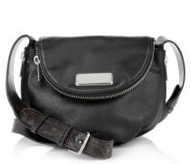 Marc by Marc Jacobs Tasche - New Q Zippers Mini Natasha Black Multi - in schwarz - Umhängetasche für Damen