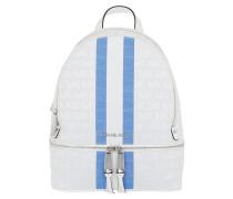 Rucksack Rhea Zip Medium Backpack Grecin Blue Multi weiß