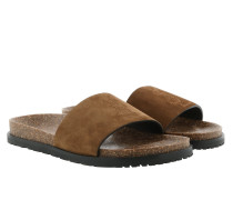 Joan 05 Slip On Leather Sandal Land Schuhe