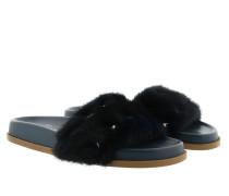 Slipper Petroleum Schuhe