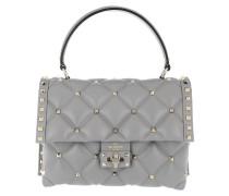 Candystud Shoulder Bag Light Grey Satchel