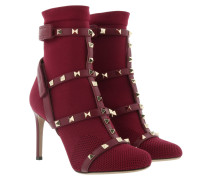 Rockstud Sock Bootie Rubino Schuhe