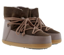 Classic Low Snow Boot Taupe Schuhe braun