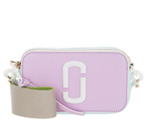 Umhängetasche Ceramic Snapshot Camera Bag Small Leather Light Purple bunt