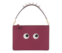 Large Zip Top Pouch Creature Raspberry Pochette