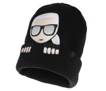 Caps Ikonik Beanie Peek A Boo Black