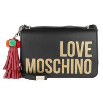 Crossbody Bag Tassel Nero Tasche