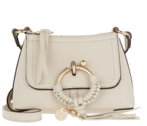 Umhängetasche Joan Crossbody Bag Mini Leather Cement Beige beige